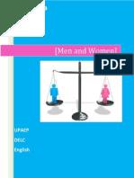 Men and Women Teacher Version Spring 2013