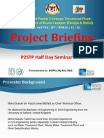 Project Briefing on Pantai 2 Sewage Treatment Plant