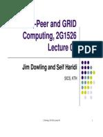 Peer-to-Peer Computingd GRID Peer-To-Peer Computing