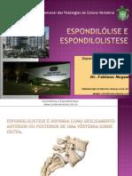 Espondilolistese e Espondilólise
