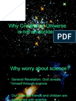 Why Creation of Universe is Not an Accident