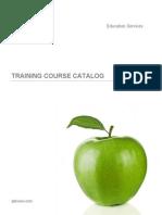 QlikView Education Services Training Course Catalog En