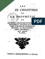 Sluchmulders Humball - Les treize chapitres de la prophétie