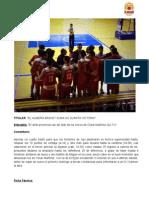 El Almería Basket suma su cuarta victoria - Indalview Baloncesto Murgi 42-71 Almería Basket