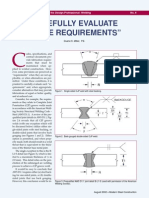 Carefully Evaluate Code Requirements