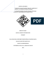 Journal Reading Pterigium Dengan Mitomycin c