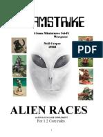 Aliens Supplement 1.2 Rules, V1.2