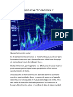 FOREX Como Invertir en Forex