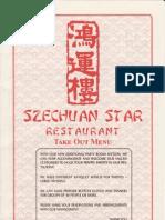 Szechuan Star Restaurant Menu
