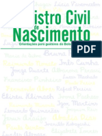 Cartilha Registro Civil Final