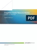ImageNow Cluster Resource Monitor Installation and Setup Guide 6.7.x