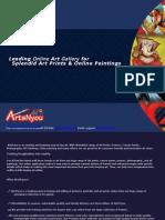 ArtsNyou Brochure - Buy Paintings Online