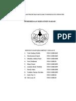Laporan Praktikum Matakuliah Toksikologi Industri