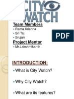Project Citywatch