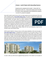 Emaar MGF Gurgaon Greens - Lavish Project with Astounding Features