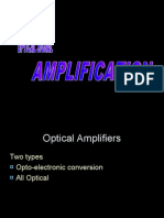 Optical Signal Amplification