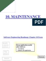 Maintenance 1
