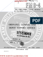1959 US Army Vietnam War Ordnance General and Depot Support Service 126p