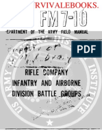 1959 US Army Vietnam War Rifle Company Infantry and Airborne Division Battle 486p