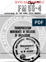 1959 Us Army Vietnam War Transportation Movements in Theaters Ops 232p