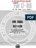 1960 US Army Vietnam War Arm Signal Battalion 75p
