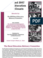 2006-07 Rural Education Mini-Grants