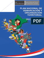 Plan Nacional Demarcacion Territorial