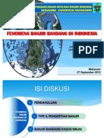 Fenomena Banjir Bandang Di Indonesia