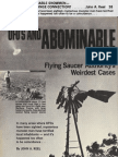 UFOs and Abominable Snowmen by John A. Keel