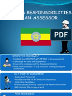 2. Duties & Responsibilities of Assessors