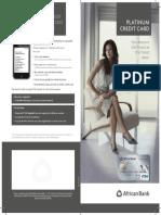 Get an African Bank Platinum Credit Card