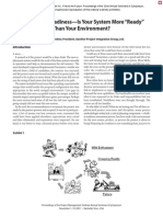 Operational READINESS - Is Your More Than Environmental