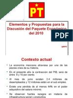 Propuesta 2010 PT y Convergencia.resuMEN
