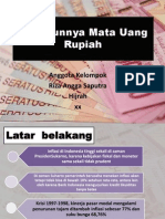 keadaan nilai tukar rupiah dan inflasi