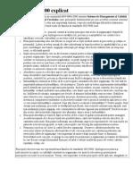 Standarde Iso Explicatii ISO 9000;9001;9004