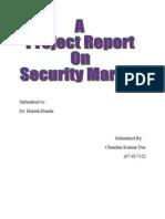 Security Market - Report