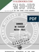 1960 US Army Vietnam War Handbook on Aggressor Military Forces 267p