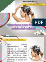 Vitaminas para frenar la caída del cabello