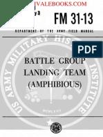 1961 US Army Vietnam War Battle Group Landing Team Amphibious 239p