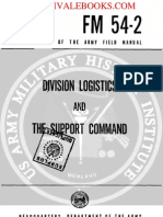 1961 US Army Vietnam War Division Logistics & the Support Command 95p