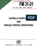 1961 US Army Vietnam War Guerilla Warfare & Special Forces Operations 264p