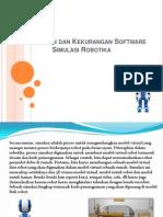Keuntungan Dan Kerugian Software Simulasi Robotika