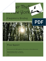 Timber Theft in New York