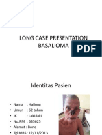 Long Case Presentation Basalioma