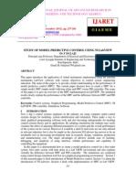 Study of Model Predictive Control Using Ni Labview