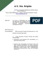 Resume Update1 Doni Sta Brigida (1)