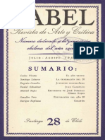 Revista Babel Nº28 (Julio-Agosto 1945)