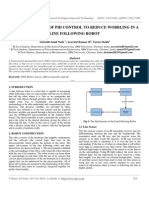 Ijret - Implementation of Pid Control to Reduce Wobbling in a Line Following Robot