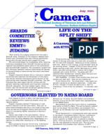 Off Camera - The Newsletter of the National Television Academy SF-N California Chapter - 0705