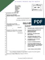 Deckers v. Comfy - Complaint